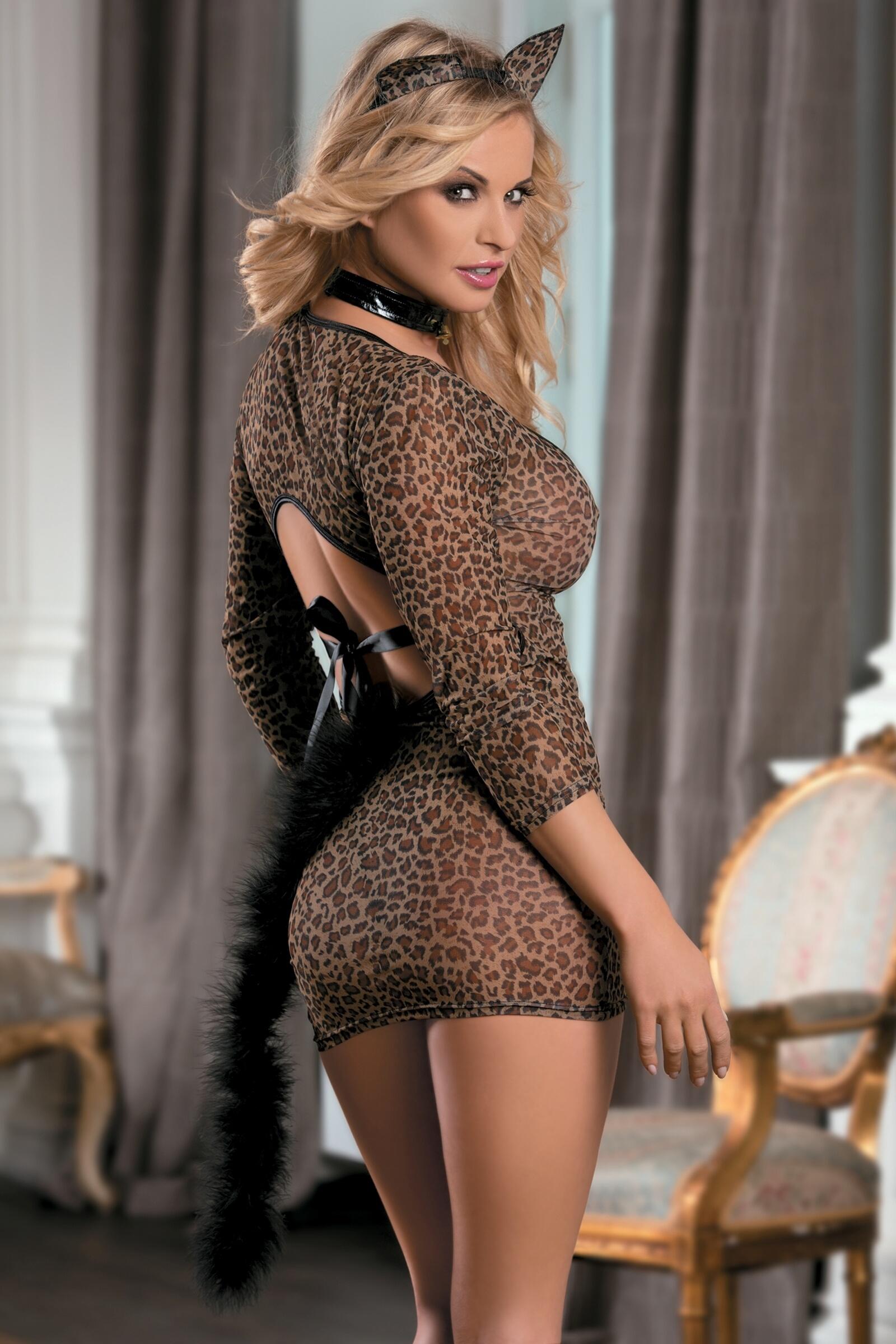 Фото девушек в эротических костюмах кошки с хвостом 23 фотография